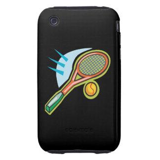 Estafa de tenis iPhone 3 tough carcasas