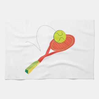 Estafa de tenis toallas