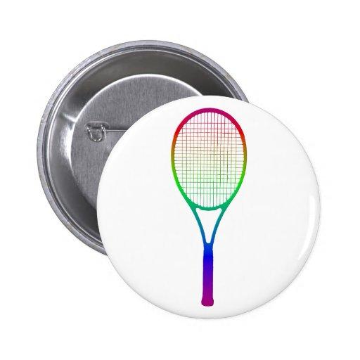 Estafa de tenis pin