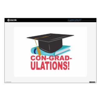 Estafa-Graduado-Ulations 38,1cm Portátil Calcomanías