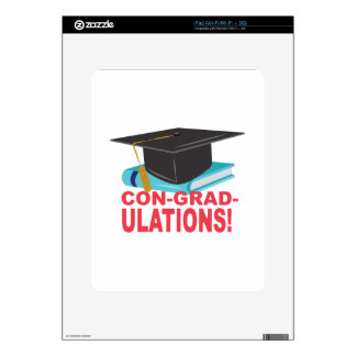 Estafa-Graduado-Ulations Skins Para iPad