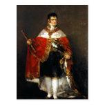 Estafa mA de Retrato de Fernando VII de la descrip Tarjetas Postales