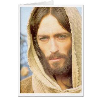 Estafa Rostro de Jesús de Tarjeta