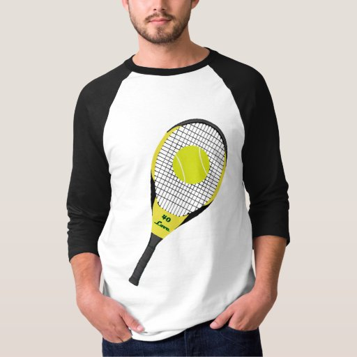 Estafa y bola de tenis poleras