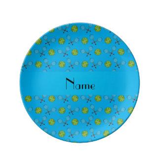 Estafas conocidas personalizadas de las pelotas de plato de cerámica