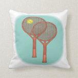 Estafas de tenis almohada