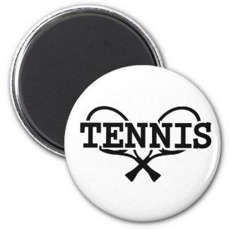 Estafas de tenis imán de nevera