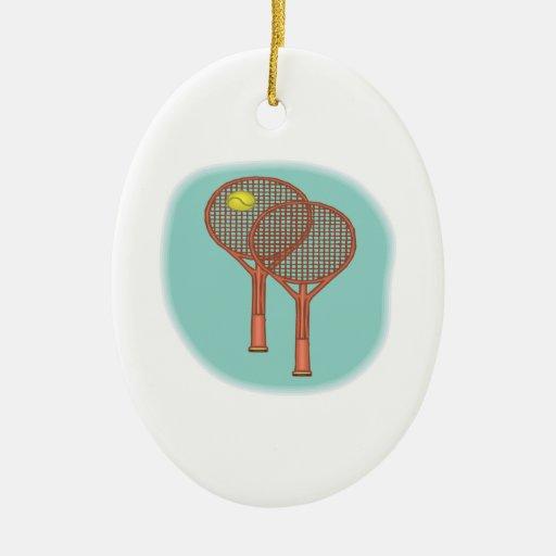 Estafas de tenis ornamento para reyes magos