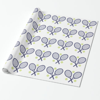 Estafas de tenis papel de regalo