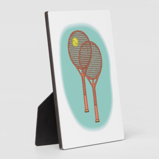 Estafas de tenis placas de plastico