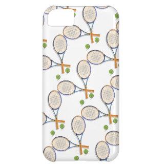 Estafas y bolas de tenis de encargo funda para iPhone 5C