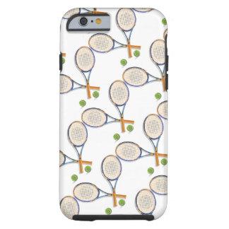 Estafas y bolas de tenis de encargo funda para iPhone 6 tough
