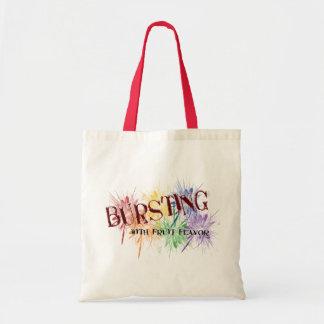 Estallar bolsos de la fruta bolsa lienzo