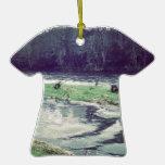 Estallar el río adornos