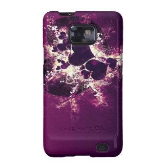 Estallar la cubierta del teléfono de los corazones samsung galaxy s2 carcasa