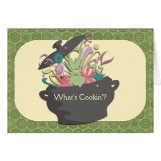 Estallar los aromas que cocinan la tarjeta del aba