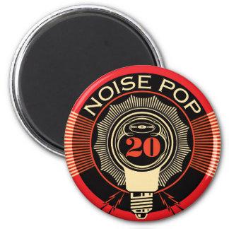 Estallido 20 del ruido imán redondo 5 cm