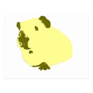 estallido amarillo pig.jpg tarjetas postales