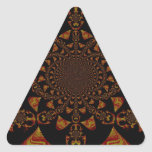 Estallido Art. de Jamaica del negro del regalo de Pegatina Triangular