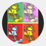 Estallido-arte Beethoven Etiqueta
