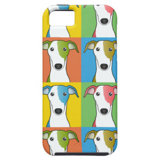 Estallido-Arte del dibujo animado del galgo iPhone 5 Case-Mate Funda