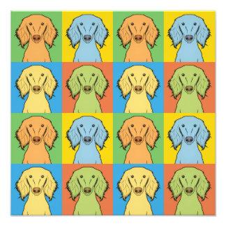 Estallido-Arte del dibujo animado del perro de Sal Fotografias
