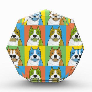 Estallido-Arte del dibujo animado del perro de Sta