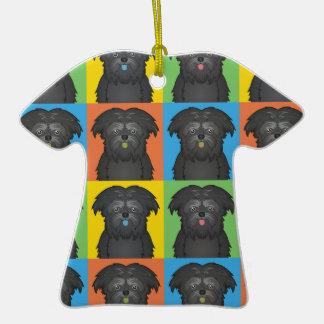 Estallido-Arte del dibujo animado del perro del Af Ornatos