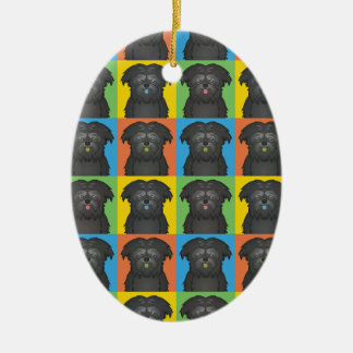 Estallido-Arte del dibujo animado del perro del Af Adorno De Reyes