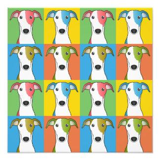 Estallido-Arte del dibujo animado del perro del ga Impresion Fotografica