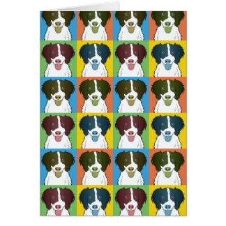 Estallido-Arte del dibujo animado del perro del pe