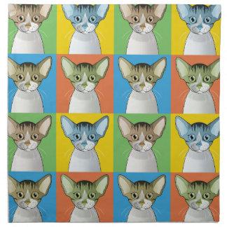 Estallido-Arte del gato de Devon Rex