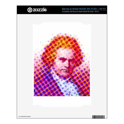 Estallido Beethoven Calcomanía Para El NOOK