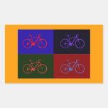estallido de la bici etiquetas