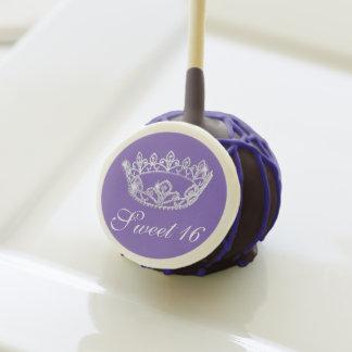 Estallido de la torta de la corona del dulce 16