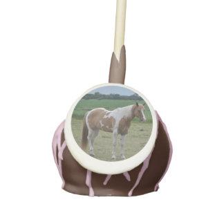 Estallido de la torta del caballo