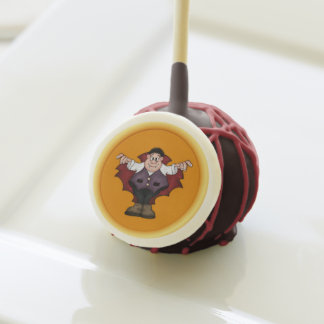 Estallido de la torta del vampiro de Halloween