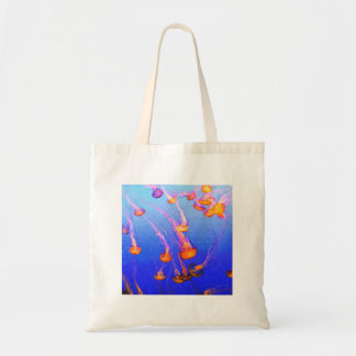 Estallido de las medusas bolsa