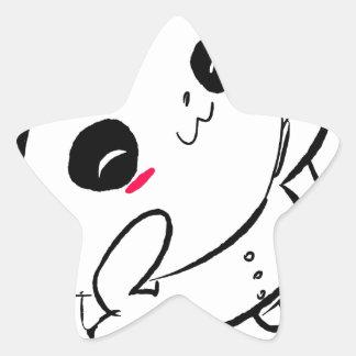 Estallido de Lolli Pegatina En Forma De Estrella