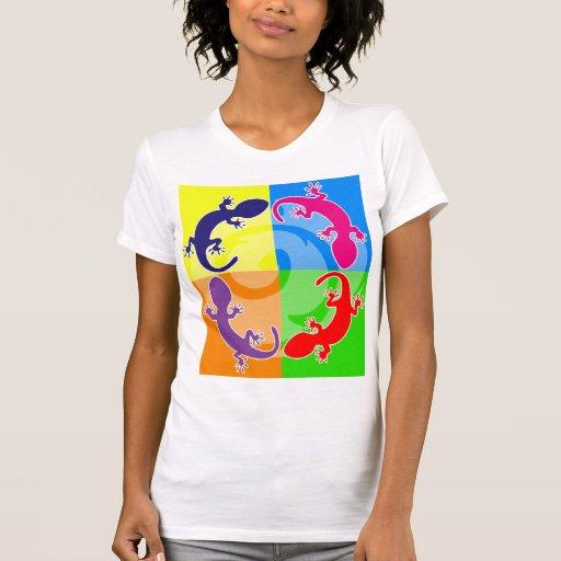 Estallido del Gecko del verano Camiseta
