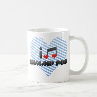 Estallido del pantano taza de café