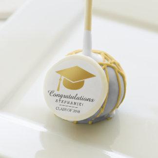 Estallido elegante de la torta de la enhorabuena d