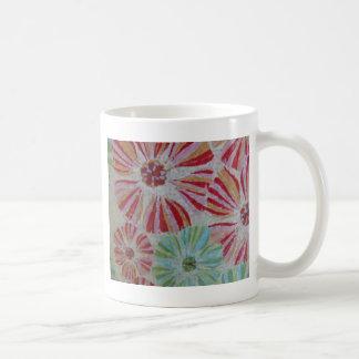 Estallido floral tazas