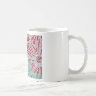 Estallido floral taza de café