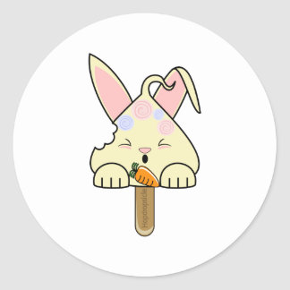 Estallido mordido Hopdrop rematado caramelo de la Pegatina Redonda