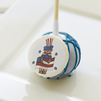 Estallido patriótico de la torta de Beary