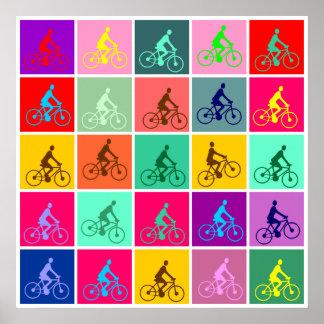 Estallido Pedalling Poster