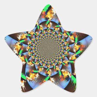 Estallido Calcomanías Forma De Estrellas Personalizadas