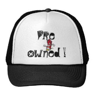¡estallido, pre poseído! gorras de camionero
