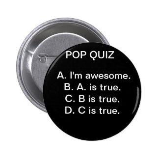 Estallido Quiz#1 Pin Redondo 5 Cm